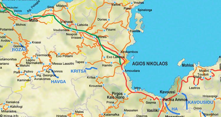 Maps Minoainfo
