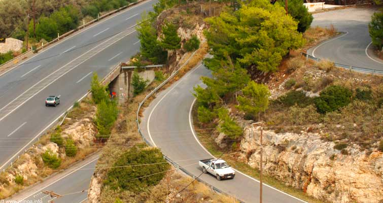 Hania crossroads